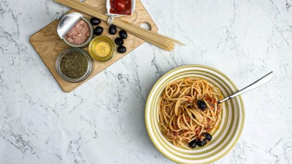 Spaghetti al Tonno Saporiti