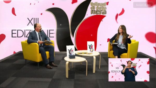 Diego Righini e Paola Tassone 600x337 - Tulipani di Seta Nera 2020: quarta e ultima giornata