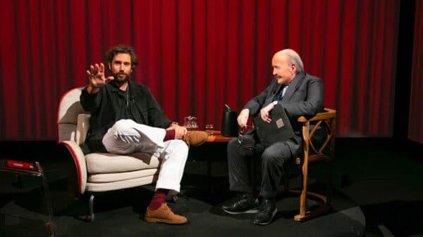 Maurizio Costanzo e Tommaso Paradiso