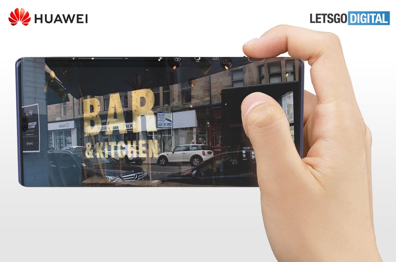 huawei mate 40 camera - Huawei Mate 40 con la nuova interfaccia della fotocamera con tocco laterale