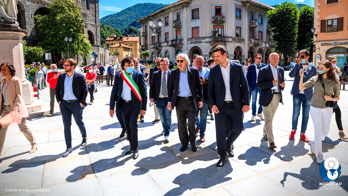 Vittorio Sgarbi in Valsesia - Foto Carlo Pozzoni / Nordcapstudio.it