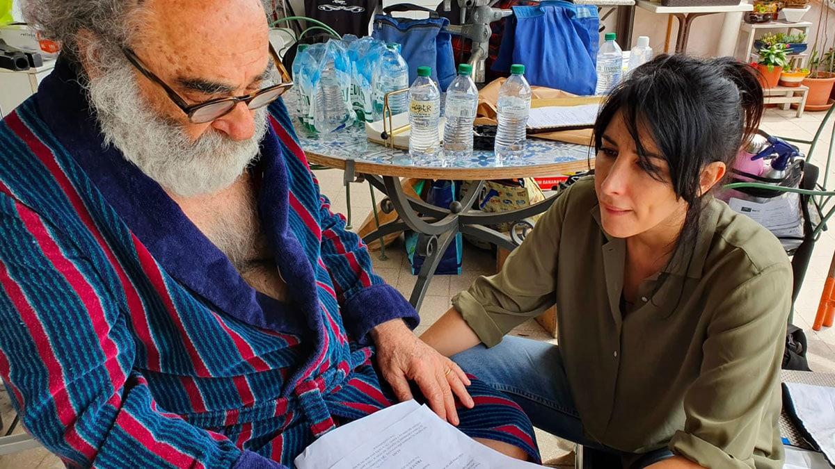 Alessandro Haber e Valentina Perrella - L'Italia chiamò: il cortometraggio di Di Cosimo con Haber