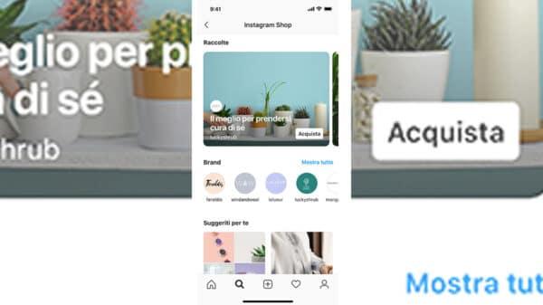Instagram Shop IT 600x337 - Arriva Instagram Shop: tutte le novità