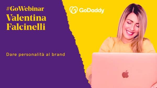 valentina falcinelli 600x337 - Dare personalità al brand: il webinar di GoDaddy