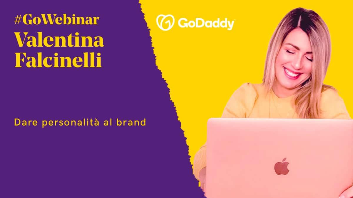 valentina falcinelli - Dare personalità al brand: il webinar di GoDaddy