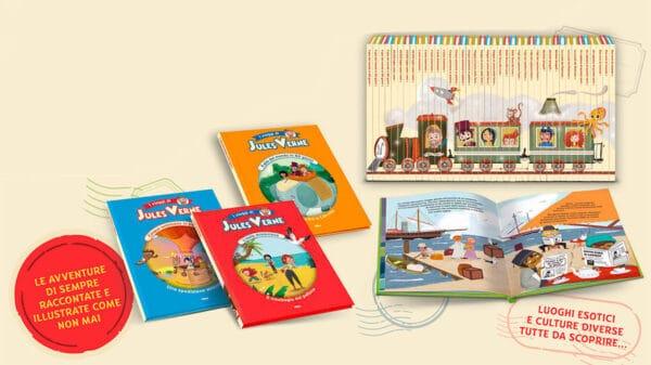 Verne Kids fascicolo0 web 3 600x337 - Arrivano in edicola i viaggi di Jules Verne