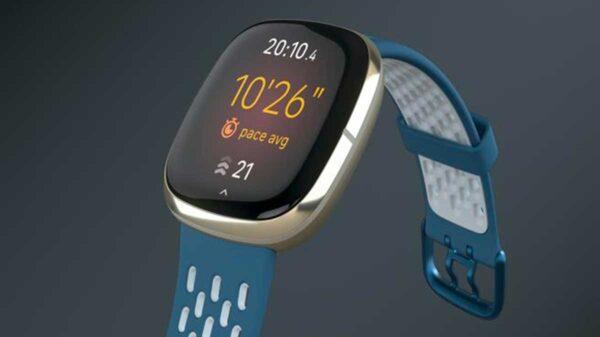 fitbit sense sapphire fog grey sport crop left ori crop MASTER  0x0 600x337 - Fitbit Sense: smartwatch di fascia alta per atleti
