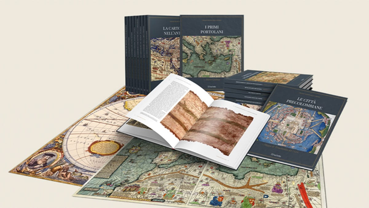 grandi mappe storia - Arrivano in edicola le Grandi mappe della storia