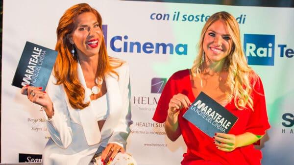 Veronica Maya e Carolina Rey, conduttrici di Marateale 2020 (foto Demia Gioia)