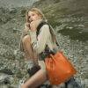 Alessia Marcuzzi con borsa MarksAngels 100x100 - La nuova collezione 2020/2021 Marks&Angels di Alessia Marcuzzi