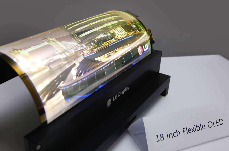 display arrotolabile lg - Dispositivo arrotolabile di LG