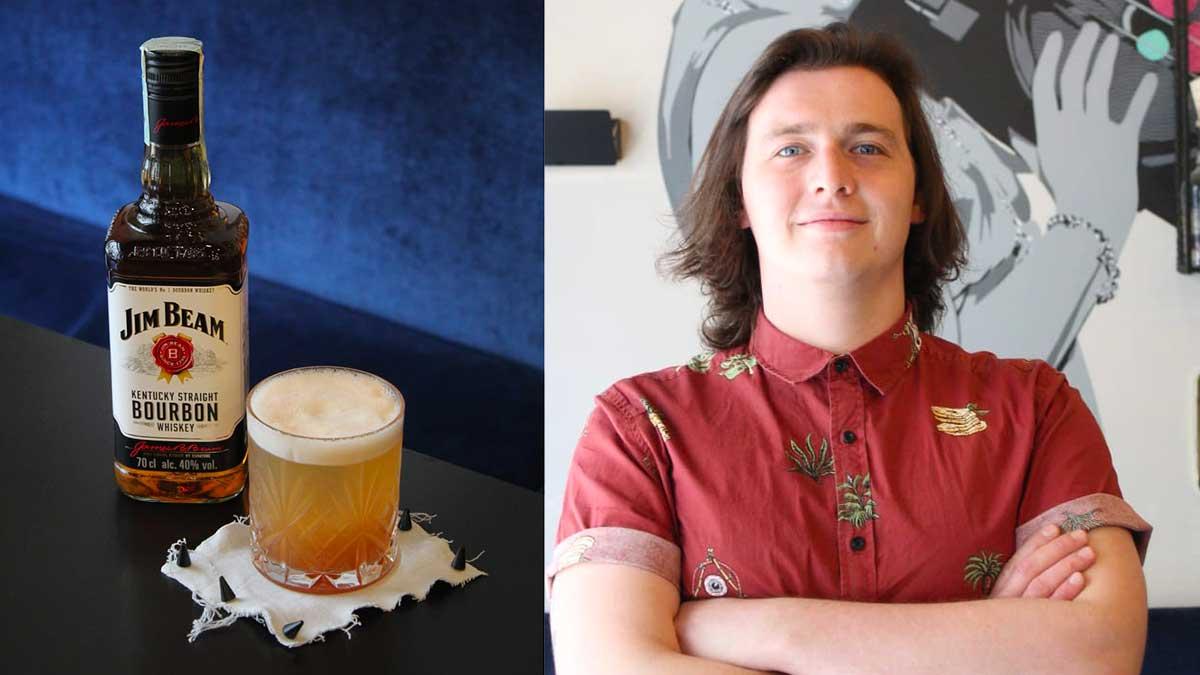 drink WHISKEY IN THE JAR di Kevin Faccio barman di Barba di Milano - Il drink WHISKEY IN THE JAR di Kevin Faccio