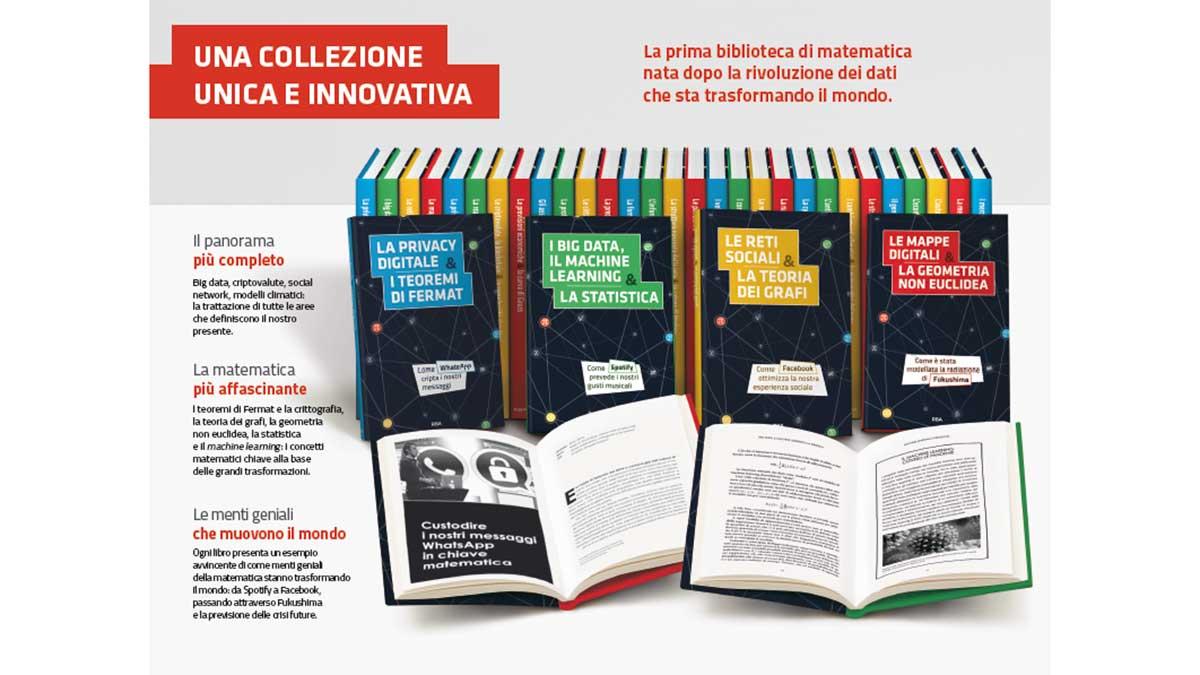 raccolta matematica edicola - In edicola la raccolta dedicata alla matematica