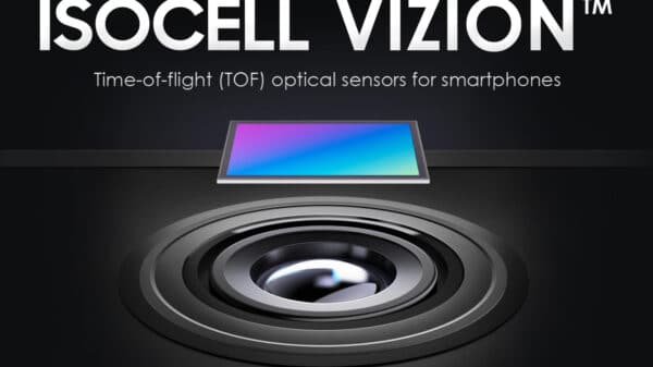 samsung isocell vizion 3d tof sensor 600x337 - Sensore 3D ToF Samsung ISOCELL Vizion per Galaxy S21
