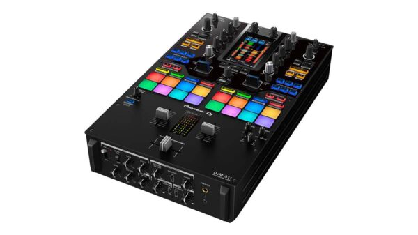 DJM S11 prm angle 600x337 - Pioneer DJ presenta DJM-S11, il mixer dedicato al mondo Urban e Hip-Hop
