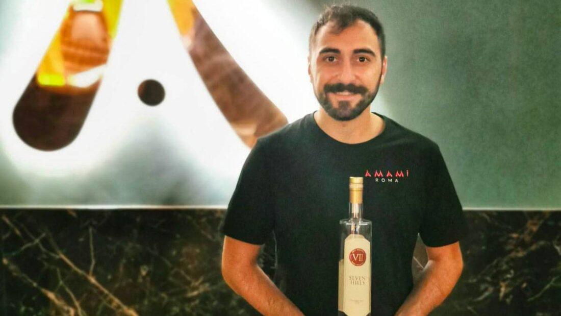 Francesco De Nicola bar manager Amami di Roma 2 1100x619 - Il drink cinema THE PINK HILL ispirato a La Pantera Rosa