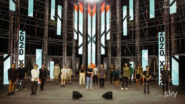 GRUPPI PALCO 600x337 - Al via i live di X Factor 2020