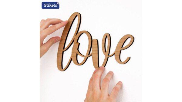 Names In Wood Love 600x337 - Vivere la propria casa nell'era del Covid