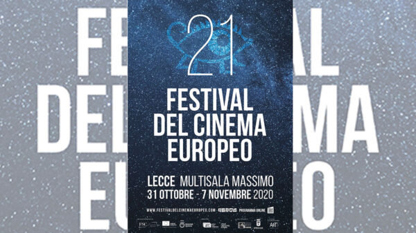 festival cinema europeo lecce 2020 600x337 - Confermatala XXI edizione del Festival del Cinema Europeo