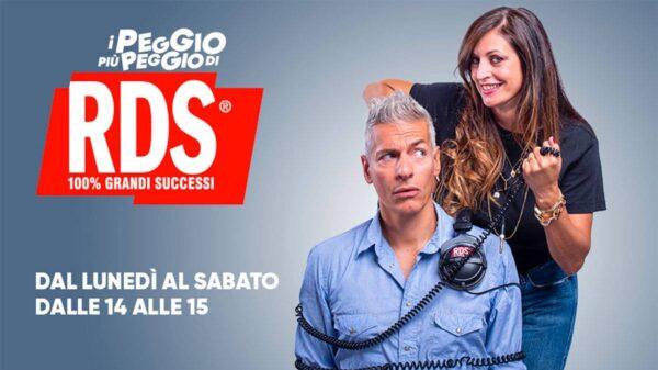 """i peggio rds 600x337 - Giovanni Vernia e Petra Loreggian protagonisti con """"I Peggio più Peggio di RDS"""""""