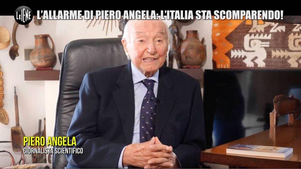 """piero angela iene 1024x576 - L'allarme di Piero Angela: """"L'Italia sta scomparendo"""""""