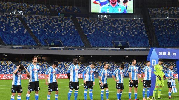 Maglia Napoli Maradona - Foto Facebook SSC Napoli