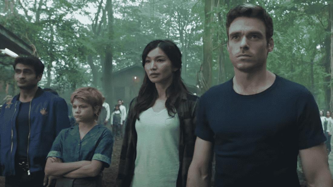 Gli attori del cast di The Eternals nel trailer Marvel