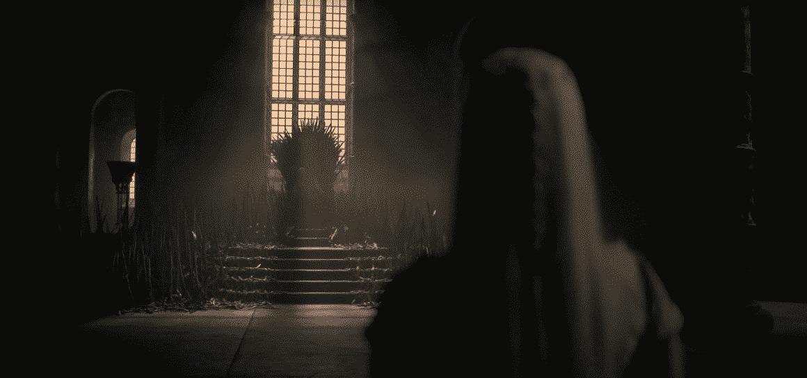 La sala del Trono con il Trono di Spade