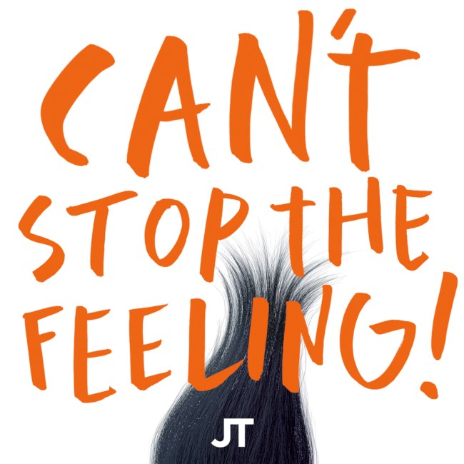 Can't stop the feeling -